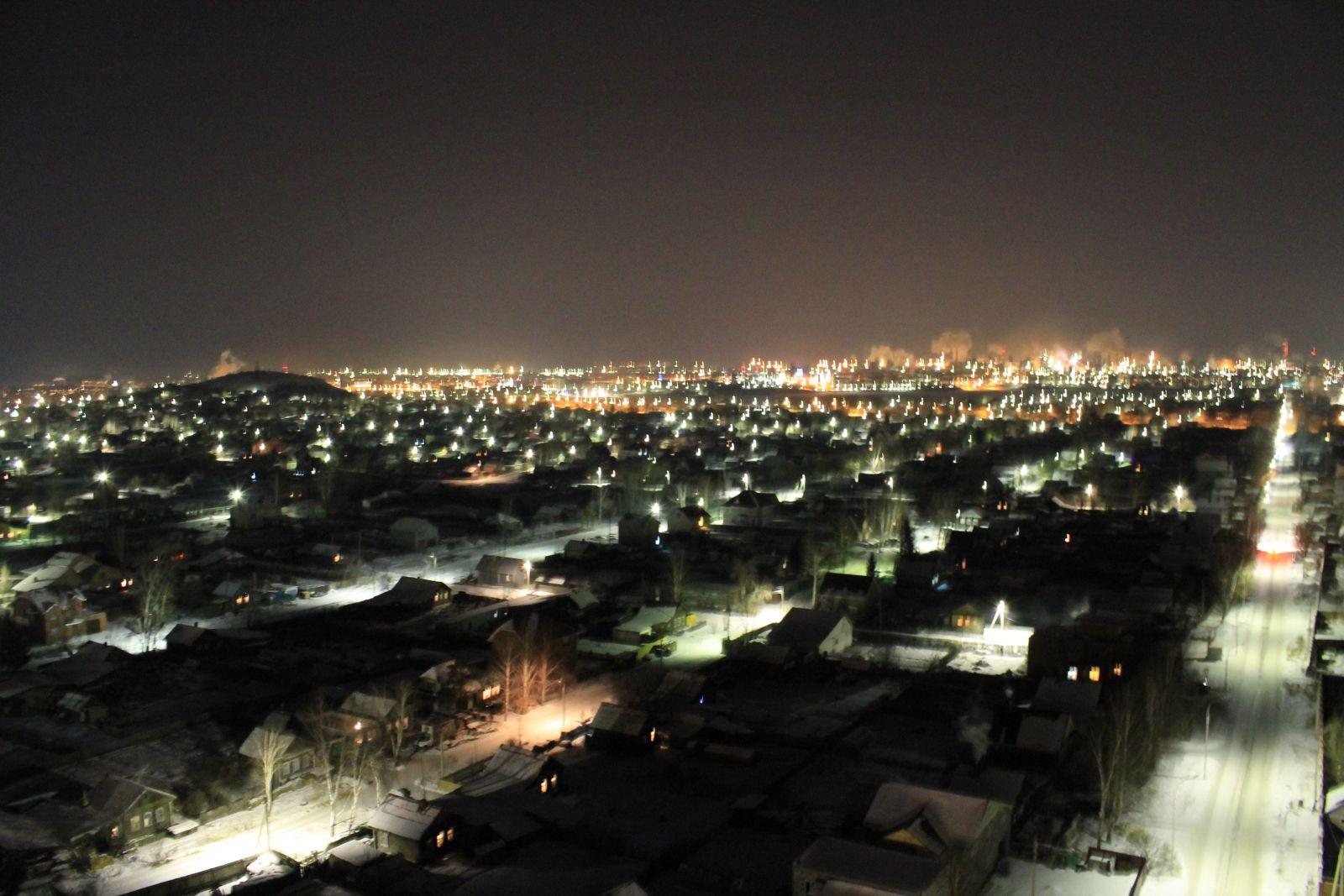 Тагил ночью